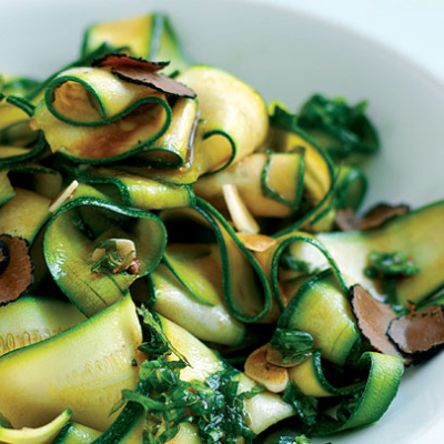 Courgettes in Mint and Balsamic Recipe