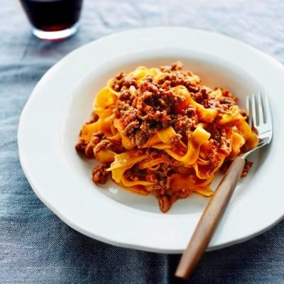 Tagliatelle With Bolognese Recipe